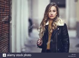 Jacket skirt redhead teen