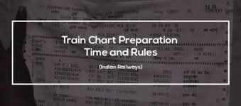 Chart Preparation Rules 21 Complete Irctc Reservation Chart Preparation Time