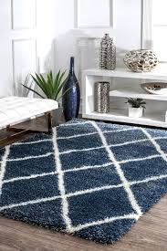 details about nuloom moroccan geometric diamond plush area rug in blue white