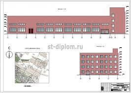 Реконструкция промышленного здания диплом по специальности  1 Фасады
