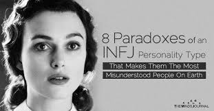 infj personality 8 paradoxes of an infj personality type that makes them the most