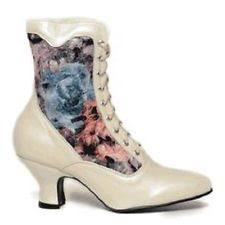 victorian wedding boots ebay Wedding Granny Boots new white oak tree farms veil pearl rose victorian wedding granny boots boot 8 5 granny boots for wedding