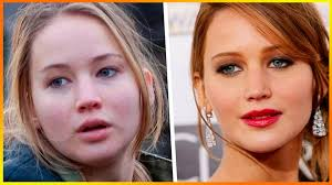 jennifer lawrence no makeup