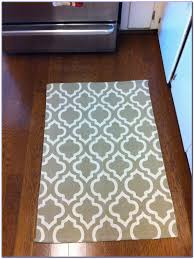 Kitchen Rug Washable Kitchen Rugs Without Rubber Backing