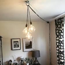 unique chandelier plug in modern hanging pendant lamp lighting unique ceiling fixture antique led bulbs