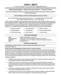 Technical Resume Format Doc Resume Template Easy Http Www