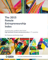 female entrepreneurship index global entrepreneurship  2015 fei report