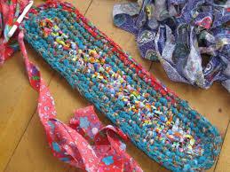 oval rag rug pattern rugs ideas new free crochet rag rug patterns