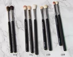 the real was this 4 piece goat hair eyeshadow brush set featuring dupes of the most famous mac blending brushes for under 3