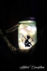 Fairy In A Jar Night Light Amazon Com Fairy Jar Night Light Handmade