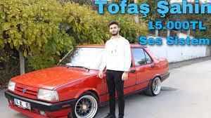 Tofaş Şahin / 15.000 TL Ses Sistemi / BBS Jant / Tofaş Şahin İnceleme -  YouTube