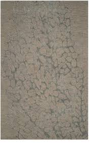 safavieh blossom blm695b rug grey grey contemporary area rugs by arearugs