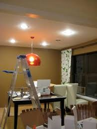recessed lighting dining room. Installing Can Lights Tut. Recessed Lighting Dining Room N