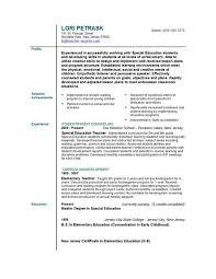 teaching resume writing