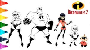 In this new movie, the amazing family assumes a new mission that involves a change of role in the family: The Incredibles Coloring Pages Drawing And Characters Incredible Villain Name Frozone Edna Mode 2 Mr Franchise Oguchionyewu
