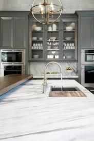 calacatta marble kitchen waterfall: calacatta ondulato marble countertop view full size