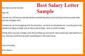 Raise Letter Sample 9 Demand Letter For Salary Increase Sample Business