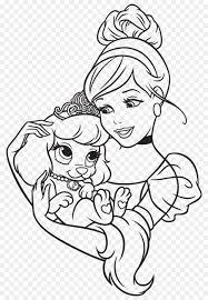 cinderella belle coloring book disney princess palace pets princess sophia