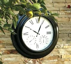 giant extra large outdoor thermometer clocks spectacular idea remarkable decoration images about tower