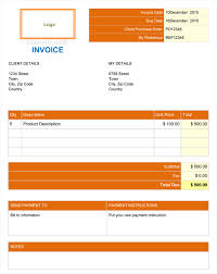 29 Commercial Invoice Templates Free Word Excel Pdf Dowuments. 29 ...