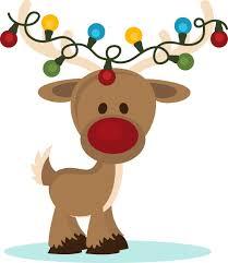 reindeer christmas clipart. Fine Clipart Fresh Christmas Gallery Digital Clip Art Black And White For Reindeer Christmas Clipart E