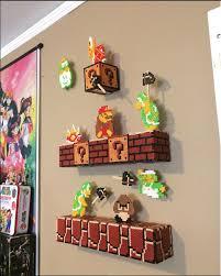 super mario 3d wall art beadsprites