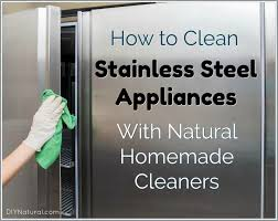 and a homemade snless steel cleaner