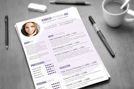 Creative Resume Template] - 97 Images - Resume Cover Letter Template ...
