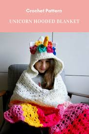 Hooded Blanket Crochet Pattern Best Design