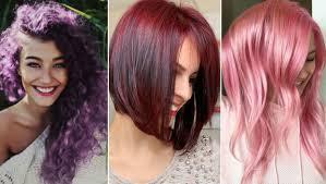 ما هي موضة ألوان صبغات شعر 2019