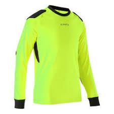 Goalkeeper Jersey F100 Yellow Kids' - aceffefe|Saint Of Saints