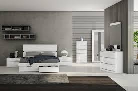 bedroom furniture black and white. Avondale 5 Drawer Tallboy White Polyurethane Bedroom Suite Furniture Black And