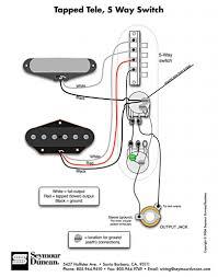 alternate wiring schemes for telecaster Strat 7 Way Wiring Diagram Texas Special Pickups