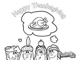 Small Picture Thanksgiving dinner with indians coloring pages Hellokidscom