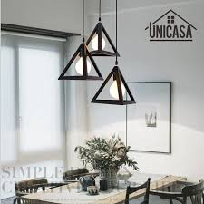 interior industrial lighting fixtures. Vintage Wrought Iron Pendant Lights Industrial Lighting Fixtures Black Metal Kitchen Island Office Shop Hotel LED Interior A
