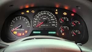 Chevy Trailblazer All Dash Lights On Ignition Switch Failure Symptoms Trailblazer Envoy