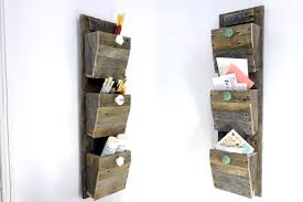 wood mail holder wall mount wooden wall mounted mail sorter wall mount ideas