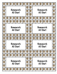 Free Punch Cards Template Best Photos Of Student Punch Card Template Free Printable