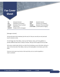 Fax Covers Office Com Assignment Cover Page Template Doc Document