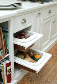 kitchen cabinet pull out vegetable storage drawers countertop s solutions