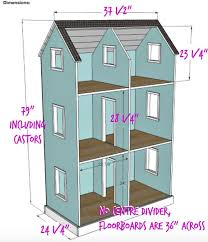 american girl doll house plans.  House DIY American Girl Dollhouse  Adjusted Measurements For A 3u0027 Wide By 24 In Doll House Plans R