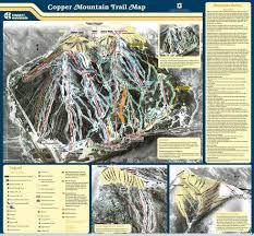 copper mountain trail map  liftopia