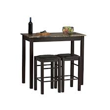 breakfast bars furniture. Linon Tavern Collection 3-Piece Table Set Breakfast Bars Furniture I