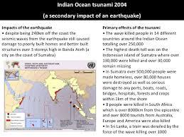 n ocean tsunami case study  theearthquake 2 n ocean tsunami 2004