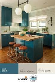 kitchen cabinets paint colorsBest 25 Teal kitchen cabinets ideas on Pinterest  Turquoise