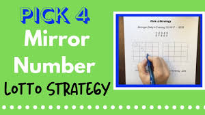 How To Win Pick 4 Strategy Mirror Number Lotto Strategy