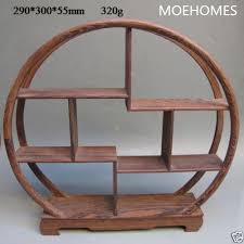 Wooden Display Stands For Figurines china Oriental Collection Wood Curve Shelf Curios display stand 14