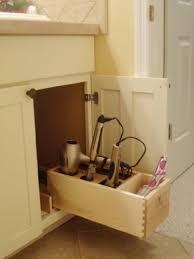 Hair Appliance Organizer, hair dryer, flat iron, curling ... - Amazon.com