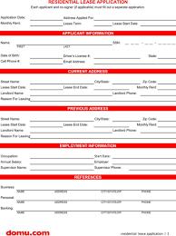Renters Application Template Download Rental Application Template For Free Formtemplate