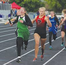 LeBrun breaks record and carries relay to state at divisionals | Stillwater  County News